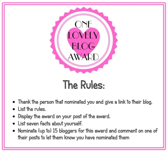 one-lovely-blog-award-rules